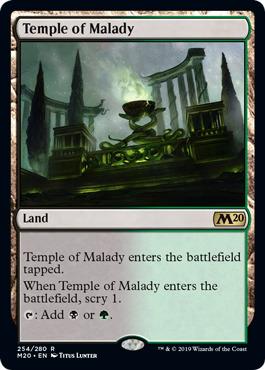 Temple of Malady - Foil