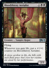 Bloodthirsty Aerialist - Foil