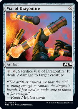 Vial of Dragonfire - Foil