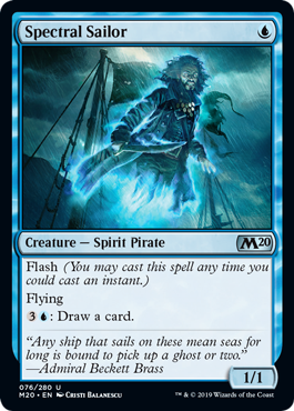Spectral Sailor - Foil