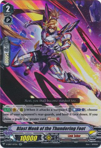 Blast Monk of the Thundering Foot - V-EB07/017EN - RR