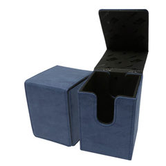 Ultra Pro - Alcove Flip Box - Suede Collection: Sapphire