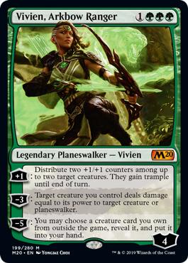 Vivien, Arkbow Ranger - Foil