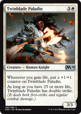 Twinblade Paladin (Planeswalker Deck)