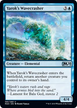 Yaroks Wavecrasher - Foil