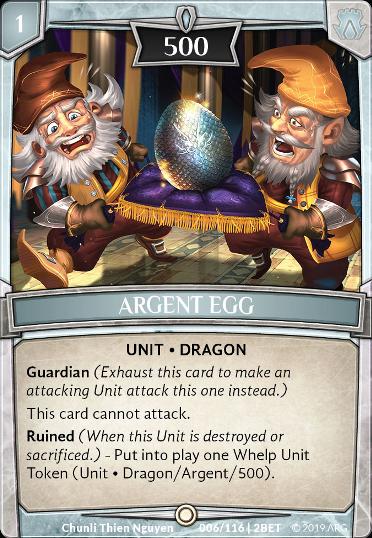 Argent Egg