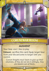 Corum War Room - Foil on Channel Fireball