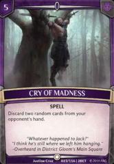 Cry of Madness on Channel Fireball