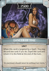Dancer of Time on Channel Fireball