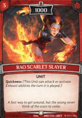 Rao Scarlet Slayer