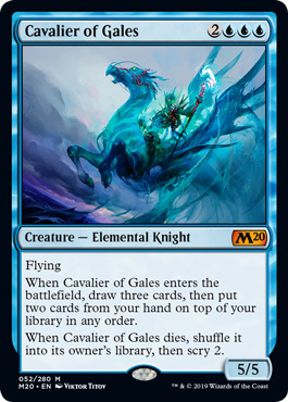 Cavalier of Gales - Magic Singles » Core Set 2020 - Fusion