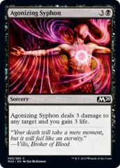 Agonizing Syphon on Channel Fireball