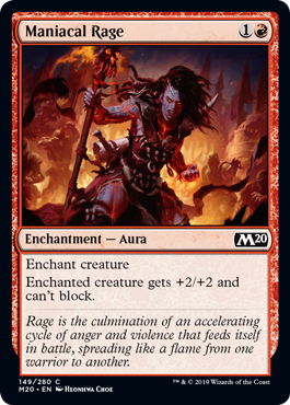 Maniacal Rage - Foil