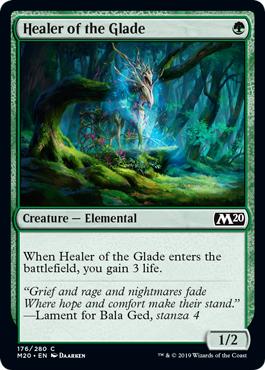 Healer of the Glade - Foil