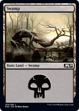Swamp (269) - Foil