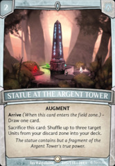 Statue at the Argent Tower - Foil