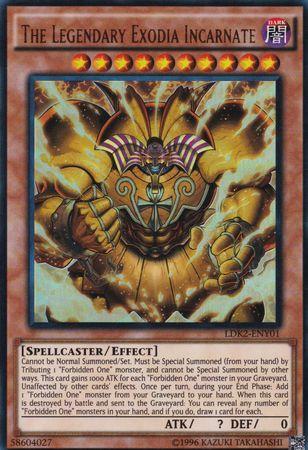 The Legendary Exodia Incarnate - LDK2-ENY01 - Ultra Rare - Unlimited Edition