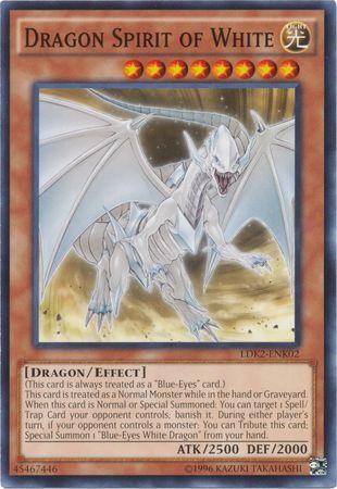 Dragon Spirit of White - LDK2-ENK02 - Common - Unlimited Edition
