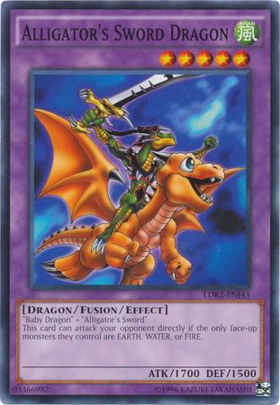 Alligators Sword Dragon - LDK2-ENJ43 - Common - Unlimited Edition