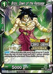 Broly, Dawn of the Rampage (Level 2 Judge Promo) - BT1-076 - PR