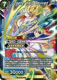 Gogeta, Hero Revived (Judge Promo) - BT5-038 - PR