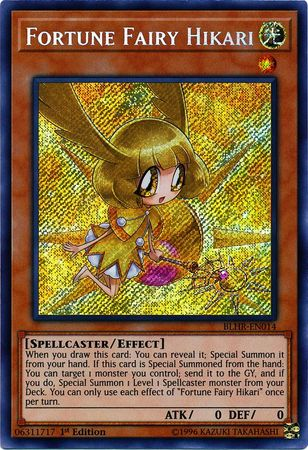 Fortune Fairy Hikari - BLHR-EN014 - Secret Rare - 1st Edition