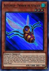 Battlewasp - Twinbow the Attacker - BLHR-EN034 - Ultra Rare - 1st Edition on Channel Fireball
