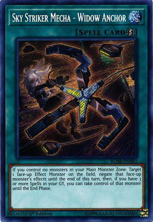 Sky Striker Mecha - Widow Anchor - BLHR-EN092 - Secret Rare - 1st Edition