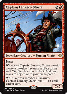 Captain Lannery Storm - Promo Pack