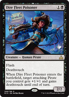 Dire Fleet Poisoner - Promo Pack
