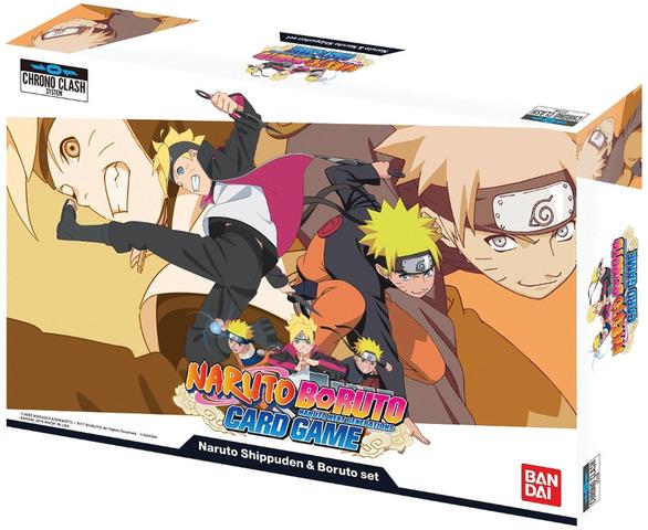 Naruto Boruto Card Game: Naruto Shippuden & Boruto Set