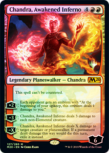 Chandra, Awakened Inferno - Foil - Promo Pack