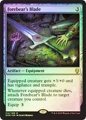 Forebear's Blade - Foil