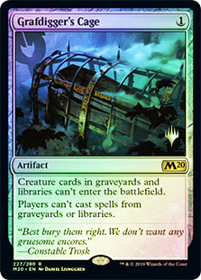 Grafdiggers Cage - Foil - Promo Pack