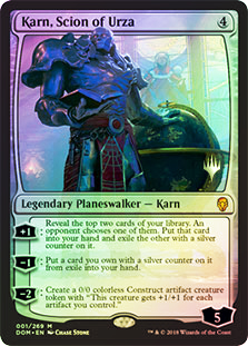 Karn, Scion of Urza - Foil - Promo Pack