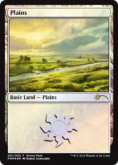 Plains (001) - Foil - Promo Pack