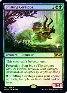 Shifting Ceratops - Foil - Promo Pack