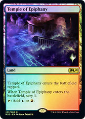 Temple of Epiphany - Foil - Promo Pack