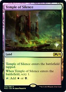 Temple of Silence - Magic 2020 Foil - Promo Pack
