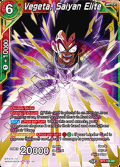 Vegeta, Saiyan Elite - BT7-114 - SR