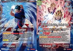 Son Gohan // Son Gohan & Son Goten, Brotherly Bonds - BT7-001 - C - Foil
