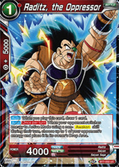 Raditz, the Oppressor - BT7-003 - UC - Foil