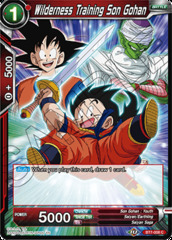 Wilderness Training Son Gohan - BT7-008 - C - Foil