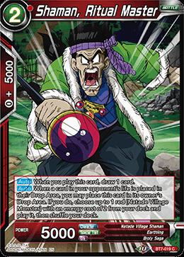 Shaman, Ritual Master - BT7-019 - C - Foil