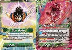 Son Goku // Kaio-Ken Son Goku, Training Complete - BT7-050 - C - Foil