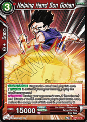 Helping Hand Son Gohan - BT7-007 - C - Pre-release (Assault of the Saiyans)