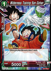 Wilderness Training Son Gohan - BT7-008 - C - Pre-release (Assault of the Saiyans)