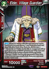 Elder, Village Guardian - BT7-017 - C - Pre-release (Assault of the Saiyans)