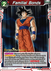 Familial Bonds - BT7-021 - C - Pre-release (Assault of the Saiyans)