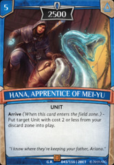 Hana, Apprentice of Mei-Yu